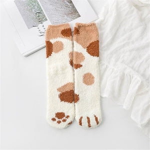 Kitty Claw Ankle Socks
