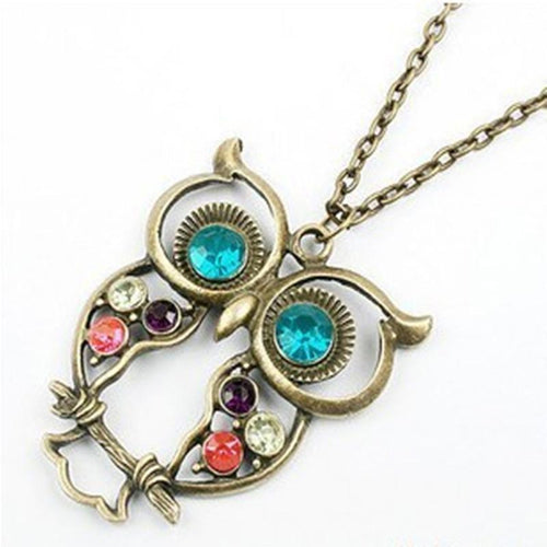 Owl Pendant Necklace Jewelry Gift - Every Day Itemz