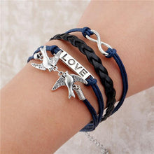 Load image into Gallery viewer, Double Leather Multilayer Charm bracelet - Every Day Itemz