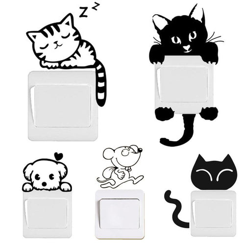 Funny Cute Animals Switch Decal - Every Day Itemz