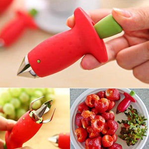 Strawberry Huller Metal Tool - Every Day Itemz