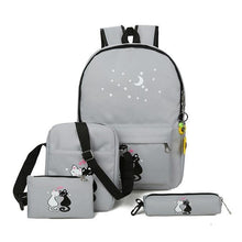 Load image into Gallery viewer, 4 Pice/set women backpack schoolbag - Every Day Itemz