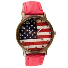 Load image into Gallery viewer, Casual Flag Women Watch - Every Day Itemz
