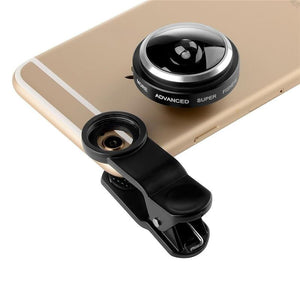 Super Fish Eye Camera Fisheye For Phone Lenses - Every Day Itemz