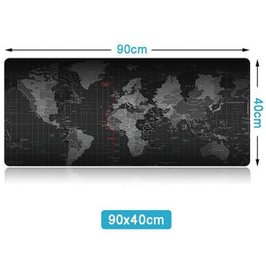 World Map Mouse Pad - Every Day Itemz