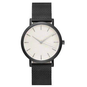 Women Watches Stainless Steel Black - Every Day Itemz