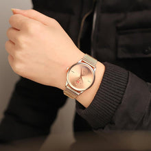 Load image into Gallery viewer, Sleek watch with Mesh Steel - Every Day Itemz