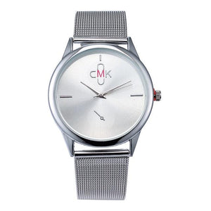 Sleek watch with Mesh Steel - Every Day Itemz