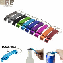 Load image into Gallery viewer, Keychain 4 in 1 Pocket Aluminum Beer Bottle Opener - Every Day Itemz