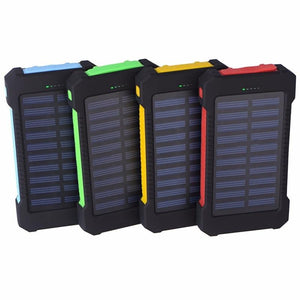 Waterproof Solar Power Bank - Every Day Itemz