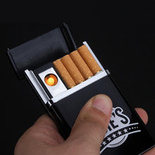 Load image into Gallery viewer, Electronic lighter Cigarette Case - Every Day Itemz