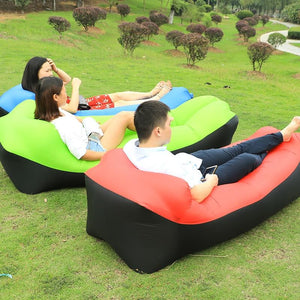 Fast Inflatable Air Sofa Bed For The Outdoors - Every Day Itemz