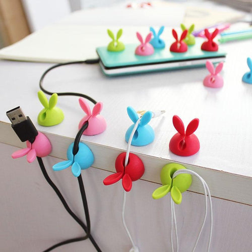 Rabbit Shaped Wire Clip Organizer - Every Day Itemz