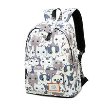Load image into Gallery viewer, Waterproof Cat Printing Backpack - Every Day Itemz