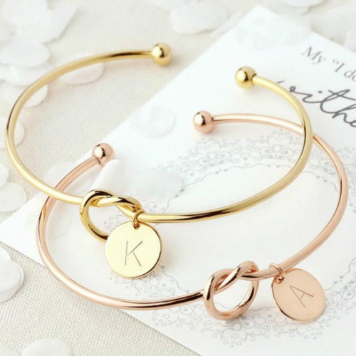 European and American Metal Simple Knotted Bracelet For Women - Every Day Itemz