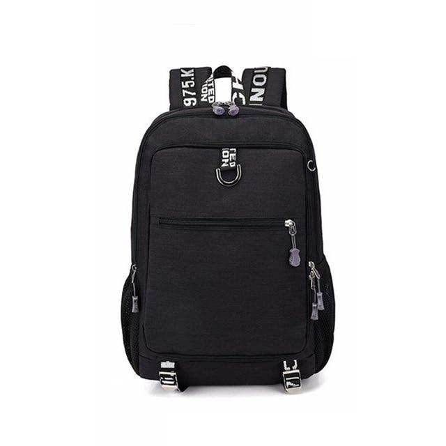 Multifunctional Oxford Casual laptop backpack For School With USB charger - Every Day Itemz