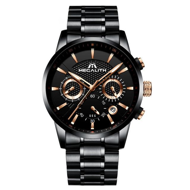 Waterproof Chronograph Sport Watch For Men - Every Day Itemz