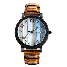 Load image into Gallery viewer, Multi color Unisex Leather Band Watch - Every Day Itemz