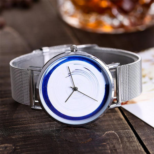 CCQ Women Stainless Steel Mesh Band Strap Watch - Every Day Itemz