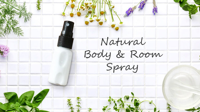 Natural Body & Room Spray