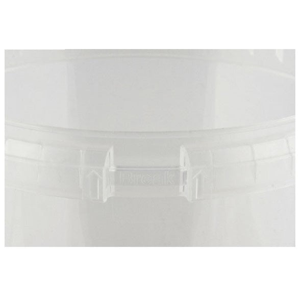 Safe Lock Container, Clear 12 oz