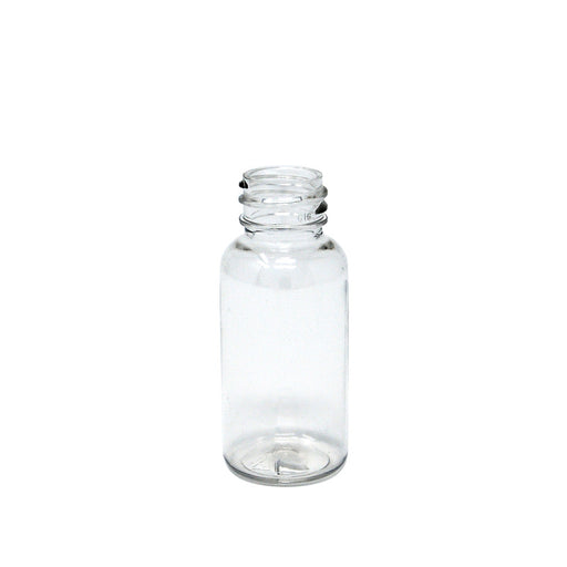 bottle boston round 1oz clear 20 410
