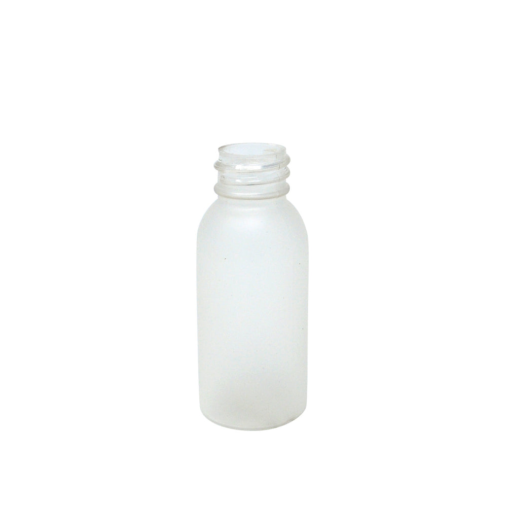 Boston Round Bottle, 1oz Frosted 20-410