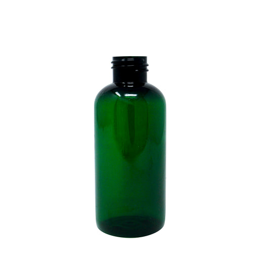 bottle boston round 4oz dark green 24 410
