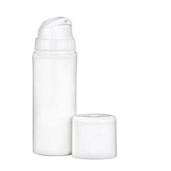 airless treatment pump bottle white 50ml