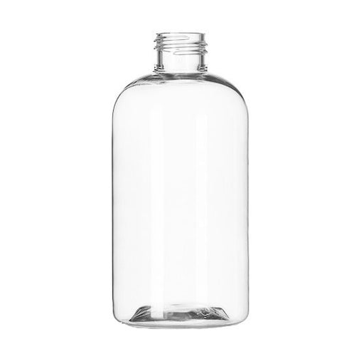 Bottle, Boston Round, 8oz Clear 24-410