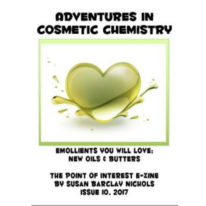 Emollients You Will Love: New Oils & Butters e-Zine