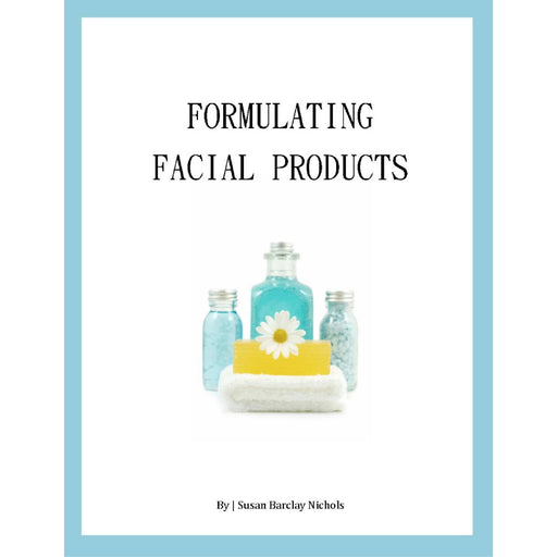Formulating Facial Products e-book