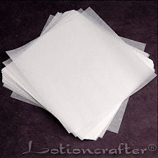 weighing paper glassine