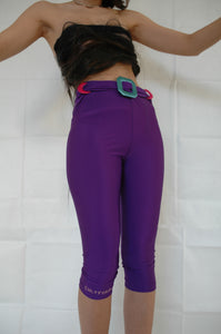 Purple Midi tights