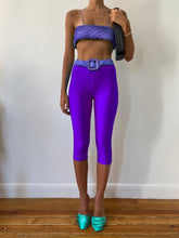Load image into Gallery viewer, PURPLE YORGAN BELT TIGHTS