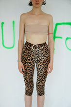 Load image into Gallery viewer, Leopard Midi Tights