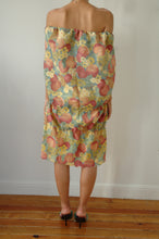 Load image into Gallery viewer, TABLECLOTH FRUITS DRESS