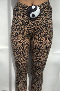 Leopard Yin-Yang Tights