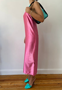 PINK YORGAN DRESS