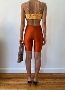 ORANGE YORGAN BELT TIGHTS
