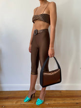 Load image into Gallery viewer, BROWN YORGAN BELT TIGHTS