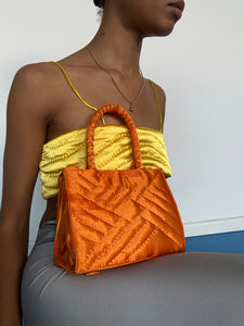 Orange Cult Yorgan Bag