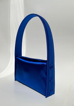 Load image into Gallery viewer, DEEP BLUE SATIN BAG