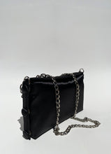 Load image into Gallery viewer, Black Satin Bag