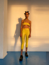 Load image into Gallery viewer, Yellow Yorgan Bra