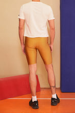 Load image into Gallery viewer, MUSTARD BIKER TIGHTS MEN