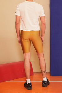 MUSTARD BIKER TIGHTS MEN