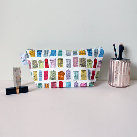 Colourful Houses Washbag