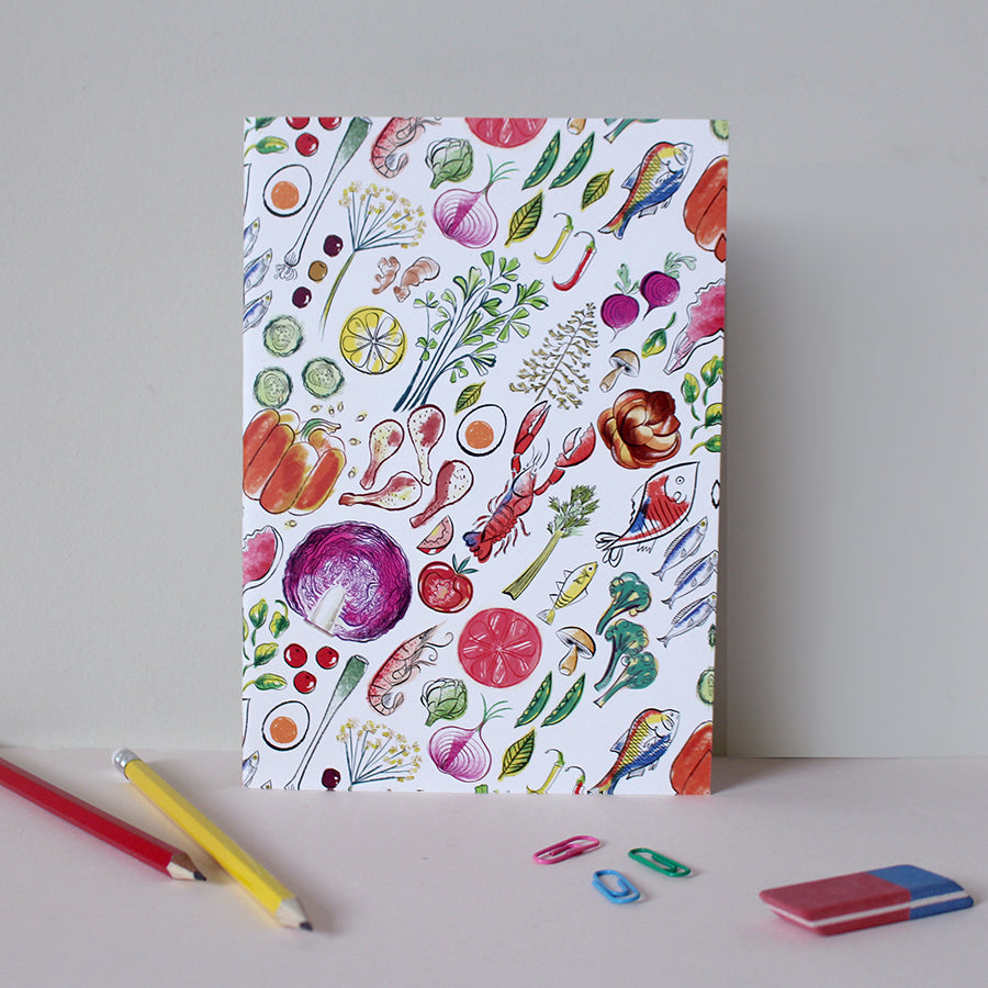 Cook's Ingredients A5 Notebook