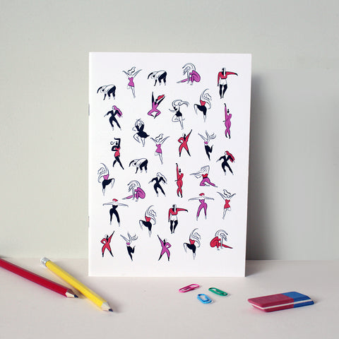 Dancers A5 Notebook